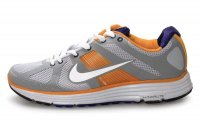 Nike Lunar Elite Grey Orange Mens Running Shoes
