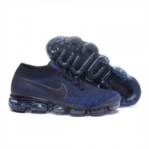 Mens Nike Air VaporMax Flyknit Navy Blue Shoes