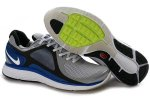 Nike Lunar Eclipse Silver Gray Royal Blue Men Shoes