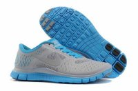 Nike Free 4.0 V2 Gray Blue Shoes