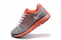 Nike LunarElite+ 2 Grey Orange Womens Running Shoes 429783 114