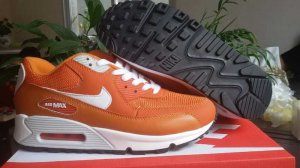 Nike Air Max 90 Orange Women Shoes-51