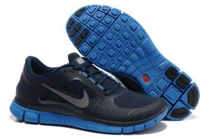 Nike Free 5.0 3V Dark Blue Sapphire Blue Shoes