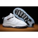 Kids Nike Air Jordan Shoes 11 White