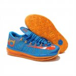 Mens Nike KD 6 Elite Blue Orange