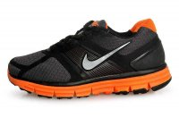 Nike LunarGlide+ Black Orange Mens Running Shoes
