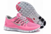 Nike Free 5.0 2V Light Red Light Gray Shoes