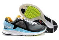 Nike Lunar Eclipse Grey Black Blue Orange Mens Shoes