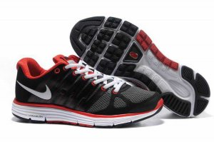 Nike LunarElite+ 2 Black Red Mens Running Shoes 429784 006
