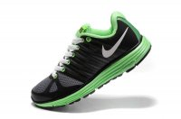 Nike LunarElite+ 2 Grey Black Green Womens Shoes 429783 013