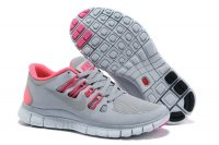 Nike Free 5.0 2V Light Gray Pink Shoes