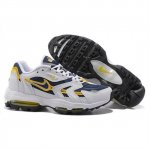 Nike Air Max 96 White Navy Yellow Shoes For Men