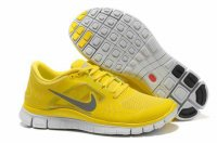 Nike Free 5.0 3V Yellow Men Shoes