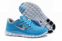 Nike Free 5.0 2V Light Blue Light Gray Shoes