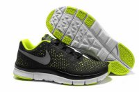 Nike Free 3.0 V4 Black Green Shoes