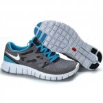 Nike Free Run 2 Womens Shoes Deep Gray Blue