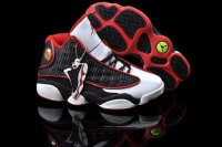 AIR JORDAN 13 Women White and Red Shoes 2013-1-17