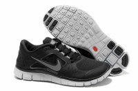 Nike Free 5.0 3V Black White Shoes
