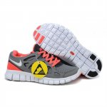 Nike Free Run 2 Womens Shoes Gray Watermelon Pink