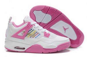 Air Jordan Retro 4 Women Shoes-12