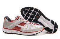 Nike Lunar Elite Grey Red White Mens Running Shoes