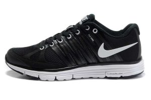 Nike LunarElite+ 2 Black White Mens Running Shoes 429784 001