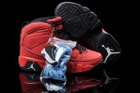 AIR JORDAN 9 RETRO (TD) KIDS Red and Black Shoes 2013-1-17