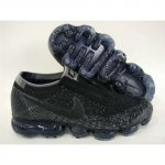 Mens Nike Air VaporMax Shoes Black Gray