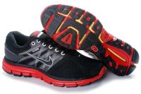 Nike LunarGlide+ 2 Black Red Mens Shoes