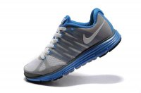 Nike LunarElite+ 2 Grey Blue Womens Running Shoes 429783 010