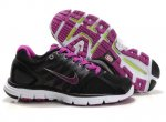 Nike LunarGlide+ 2 Black Rose Red Womens Shoes