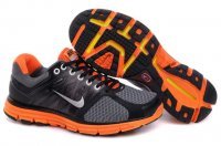 Nike LunarGlide+ 2 Black Orange Mens Shoes