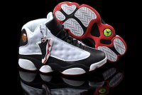 AIR JORDAN 13 Women White and Black Shoes 2013-1-17