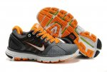 Nike LunarGlide+ 2 Grey Orange Womens Shoes
