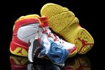AIR JORDAN 9 RETRO (TD) KIDS White and Yellow Shoes 2013-1-17