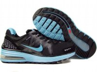 Nike Lunar Max Black Blue Mens Shoes