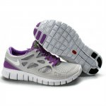 Nike Free Run 2 Womens Shoes Gray Purple White