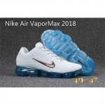 Mens Nike Air Vapormax 2018 Shoes White Skyblue