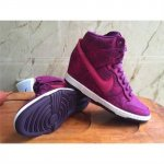 Womens Dunk Sky HI Purple Peach Shoes