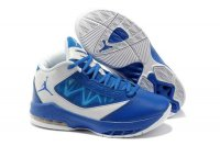 Air Jordan Melo Women blue and white Shoes