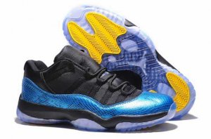 Jordan 11 retro low Blue Snake