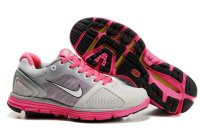 Nike LunarGlide+ 2 Grey Pink Womens Shoes