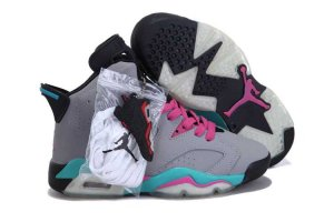 AIR JORDAN 6 Women Grey Shoes 2013-1-17