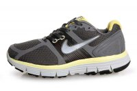 Nike LunarGlide+ Grey Yellow Womens Running Shoes