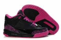 Air Jordan Retro 3 Women Shoes-4