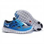 Nike Free Run 2 Womens Shoes Gray Blue