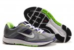 Nike Lunar Elite Grey Purple Green Mens Running Shoes