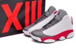 Air Jordan 13 Grey Toe 2014 Men Shoes-28