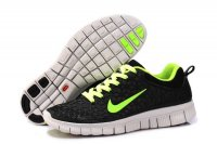 Nike Free 6.0 Black Green Shoes