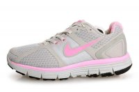 Nike LunarGlide+ Grey Pink Womens Running Shoes